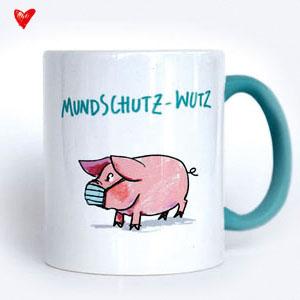 Mundschutz-Wutz